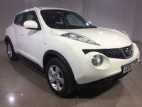 USED 2014 14 NISSAN JUKE 1.6 VISIA 5d 93 BHP 1 OWNER / AIR CON