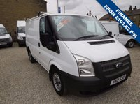 USED 2012 12 FORD TRANSIT 100T 260 2.2TDCi SWB LOW ROOF VAN ONE OWNER - FDSH - ONLY 28000m