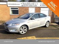 2008 FORD MONDEO 2.2 TITANIUM X TDCI 5d 173 BHP 8 SERVICES ONLY 2 FORMER KEEPERS £4690.00