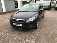 USED 2011 11 FORD FOCUS 1.6 ZETEC 5d 100 BHP Full Service History- Rear Parking Sensors-Air Con-12 Months Mot