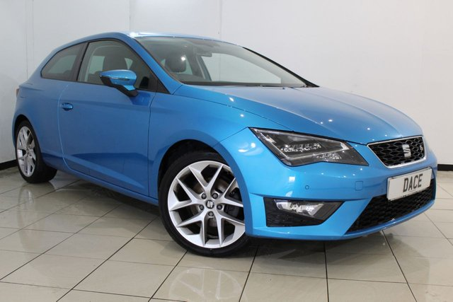 View our 2015 65 SEAT LEON 1.4 TSI FR TECHNOLOGY 3DR 150 BHP