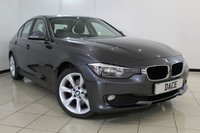 USED 2014 Y BMW 3 SERIES 2.0 320D SE 4DR 184 BHP HEATED LEATHER SEATS + SAT NAVIGATION + CLIMATE CONTROL + PARKING SENSOR + BLUETOOTH + CRUISE CONTROL + MULTI FUNCTION WHEEL + 17 INCH ALLOY WHEELS