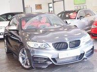 USED 2016 66 BMW 2 SERIES 3.0 M240I 2d 335 BHP ++LTHER+SATNAV+FSH++