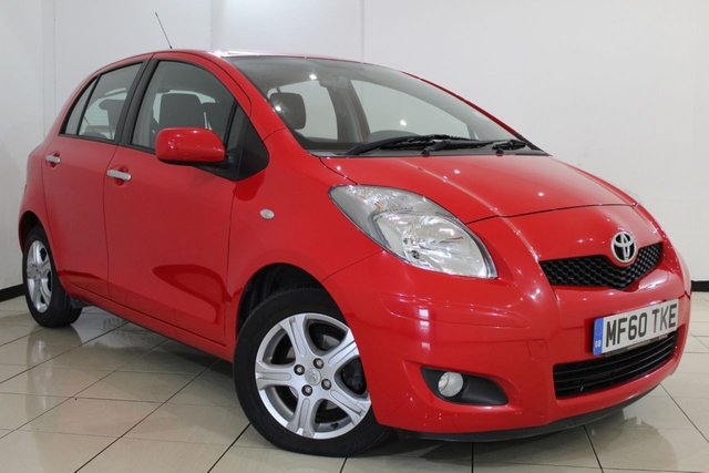 View our 2010 60 TOYOTA YARIS 1.3 TR VVT-I 5DR 99 BHP