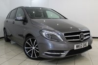 USED 2012 12 MERCEDES-BENZ B CLASS 1.8 B180 CDI BLUEEFFICIENCY SPORT 5DR 109 BHP FULL MERCEDES SERVICE HISTORY + SAT NAVIGATION* + CLIMATE CONTROL + MULTI FUNCTION WHEEL + BLUETOOTH + RADIO/CD + 18 INCH ALLOY WHEELS