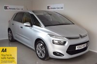 USED 2013 63 CITROEN C4 PICASSO 1.6 E-HDI AIRDREAM EXCLUSIVE 5d 113 BHP Huge Spec List - Must Be Seen
