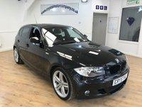 2011 BMW 1 SERIES 2.0 118D M SPORT 5d AUTO 141 BHP £8995.00