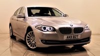 USED 2011 11 BMW 5 SERIES 2.0 520D SE 4d 181 BHP + 2 PREV OWNER FROM NEW + SERVICE HISTORY