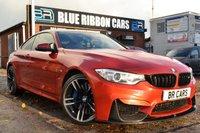 USED 2015 BMW M4 3.0 M4 DCT 2dr (start/stop) BIG SPEC, HUD, HARMON KARDON