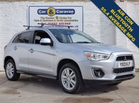 USED 2013 13 MITSUBISHI ASX 1.8 DI-D 3 5d 147 BHP Reverse Sensors Heated Seats 0% Deposit Finance Available