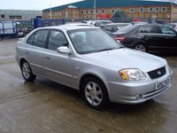 USED 2003 52 HYUNDAI ACCENT 1.6 CDX 5d 104 BHP