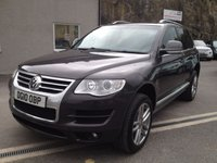 USED 2010 10 VOLKSWAGEN TOUAREG 3.0 V6 ALTITUDE TDI 5d AUTO 240 BHP *F.S.H**LOW MILEAGE**TOW BAR**PIRRELI'S ALL ROUND*