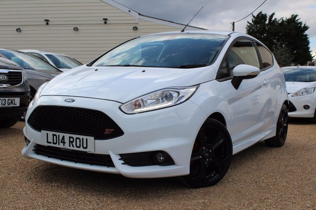View our 2014 14 FORD FIESTA 1.6 ST-3 3d 180 BHP