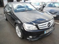 USED 2010 60 MERCEDES-BENZ C CLASS 1.8 C180 CGI BLUEEFFICIENCY SPORT 4d AUTOMATIC  156 BHP