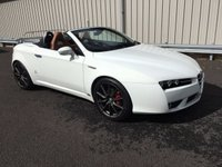 USED 2008 58 ALFA ROMEO SPIDER 2.2 JTS LIMITED EDITION 185 BHP CABRIOLET CONVERTIBLE TAN LEATHER TRIM, RAC WARRANTY
