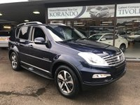 2017 SSANGYONG REXTON W 2.2 ELX ULTIMATE EDITION £25975.00