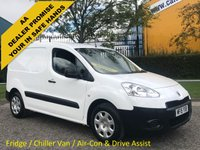USED 2015 15 PEUGEOT PARTNER 850 1.6 HDI 90 Professional [ Fridgeration-Chiller-Fridge ] Van A/C Service Printout
