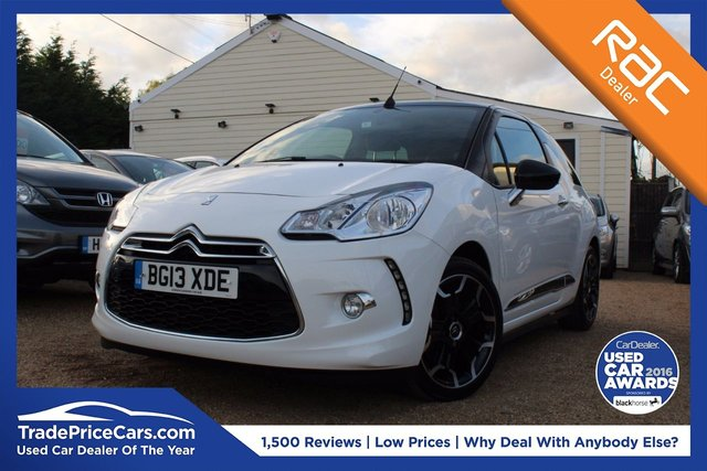 View our 2013 13 CITROEN DS3 1.6 DSPORT 3d 155 BHP