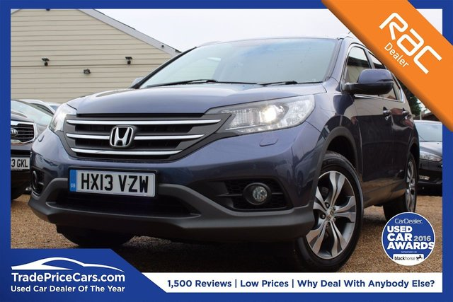 View our 2013 13 HONDA CR-V 2.2 I-DTEC EX 5d 148 BHP