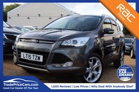 USED 2015 15 FORD KUGA 2.0 TITANIUM X TDCI 5d 148 BHP BLUETOOTH, PAN ROOF, PARKING SENSOR