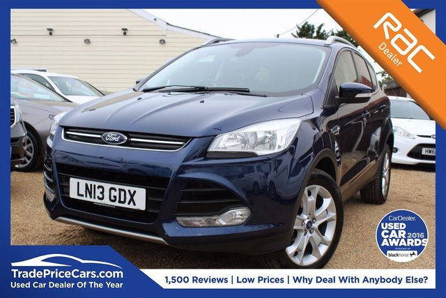 View our 2013 13 FORD KUGA 2.0 TITANIUM TDCI 2WD 5d 138 BHP