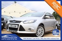 USED 2011 61 FORD FOCUS 1.6 ZETEC 5d 124 BHP bluetooth, 6 months warranty