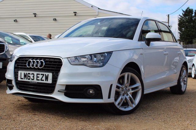 View our 2013 63 AUDI A1 2.0 SPORTBACK TDI S LINE 5d 141 BHP