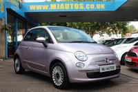 USED 2013 63 FIAT 500 1.2 LOUNGE 3dr 69 BHP PRETTY IN PINK | CHEAP TO TAX | IDEAL FIRST CAR