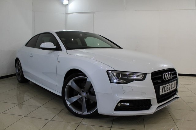 View our 2012 62 AUDI A5 3.0 TDI QUATTRO S LINE BLACK EDITION 2DR AUTOMATIC 245 BHP