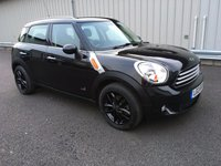 2013 MINI COUNTRYMAN 1.6 COOPER D ALL4 5d 112 BHP 4X4 WITH CHILLI PACK £10000.00