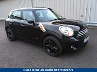 USED 2013 13 MINI COUNTRYMAN 1.6 COOPER D ALL4 5d 112 BHP 4X4 WITH CHILLI PACK 1 OWNER, RAC WARRANTY, FSH