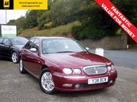 USED 2001 ROVER 75 2.0 CONNOISSEUR CDT 4d 114 BHP GREAT SPEC OLDER CAR, FULL HEATED LEATHER SEATS, ELECTRIC SUNROOF, ELECTRIC WINDOWS ALL ROUND!