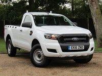 2016 FORD RANGER 2.2 XL 4X4 S/C TDCI 1d 158 BHP £16990.00