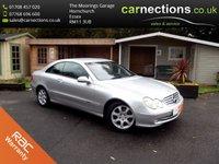 2002 MERCEDES-BENZ CLK 2.6 CLK240 ELEGANCE 2d AUTO 170 BHP £1795.00