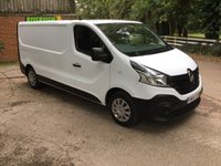 USED 2014 64 RENAULT TRAFIC 1.6 LL29 BUSINESS DCI S/R P/V 1d 115 BHP LONG WHEEL BASE, HIGH SPEC,
