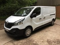 2014 RENAULT TRAFIC 1.6 LL29 BUSINESS DCI S/R P/V 1d 115 BHP £8495.00