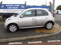 "USED 2008 08 NISSAN MICRA 1.4 ACENTA PLUS 5d AUTO 88 BHP 3 Stamps Of Service History . 1 Former Keeper . New Full Mot & Service Done On Collection Of This Car """" 2 Years FREE Mot & 2 Years Full Service Included With This Car .3 Month's Warranty . Finance Arranged . Credit Cards Accepted . Chain Driven Engine . Parking Sensor's ."