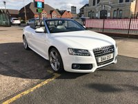 USED 2011 11 AUDI A5 1.8 TFSI S LINE 2d 158 BHP Low Mileage-Service History-Convertible-Leather