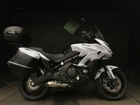 2016 KAWASAKI VERSYS 650 FGF ABS. 16. 2021. FSH. LOADED WITH EXTRAS. £6248.00
