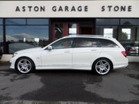 USED 2011 61 MERCEDES-BENZ C CLASS 1.8 C250 BLUEEFFICIENCY SPORT ESTATE AUTO **FULL MBSH** ** FULL MERCEDES SERVICE HISTORY **