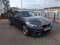 2014 BMW 4 SERIES 3.0 430D M SPORT 2d AUTO 255 BHP £22495.00