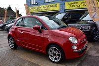 USED 2011 61 FIAT 500 1.2 LOUNGE 3d 69 BHP THE CAR FINANCE SPECIALIST
