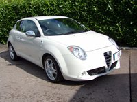 USED 2012 62 ALFA ROMEO MITO 1.4 TB MULTIAIR DISTINCTIVE 3d 105 BHP