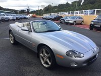 USED 2002 52 JAGUAR XKR 4.2 XKR CONVERTIBLE 2d 400 BHP Ivory leather, 20 inch BBS alloys, Sat Nav, heated seats, 400bhp later model.