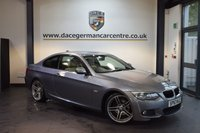 USED 2013 63 BMW 3 SERIES 2.0 320D M SPORT 2DR 181 BHP + FULL BMW SERVICE HISTORY + FULL CREAM LEATHER INTERIOR + BLUETOOTH + HEATED SPORT SEATS + XENON LIGHTS + CRUISE CONTROL +DAB RADIO + PARKING SENSORS + 19 INCH ALLOY WHEELS +