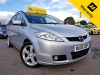 USED 2006 06 MAZDA MAZDA 5 2.0 SPORT D 5d 141 BHP! p/x welcome! MAZDA SERVICE HISTORY! 7 SEATS! PRIVACY! CLIMATE CONTROL! 6 CD CHANGER! 6 SPEED! NEW MOT & SERVICE! CHAIN DRIVEN!  7 SEATS! CLIMATE CONTRL! 6 SPEED! MAZDA SRVC HIST! 6CD CHANGER! NEW MOT & SRVC!