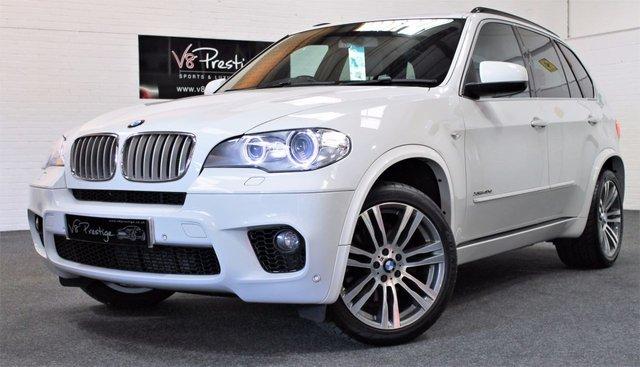 2013 62 BMW X5 3.0 XDRIVE40D M SPORT 5d AUTO 302 BHP