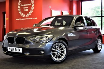 2013 BMW 1 SERIES 1.6 116D EFFICIENTDYNAMICS 5d 114 BHP £8995.00