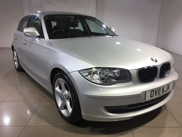 View our 2011 11 BMW 1 SERIES 2.0 118D SPORT 5d 141 BHP