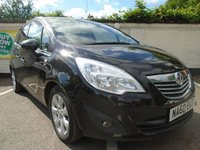 USED 2010 60 VAUXHALL MERIVA 1.4 SE 5d 98 BHP GUARANTEED TO BEAT ANY 'WE BUY ANY CAR' VALUATION ON YOUR PART EXCHANGE